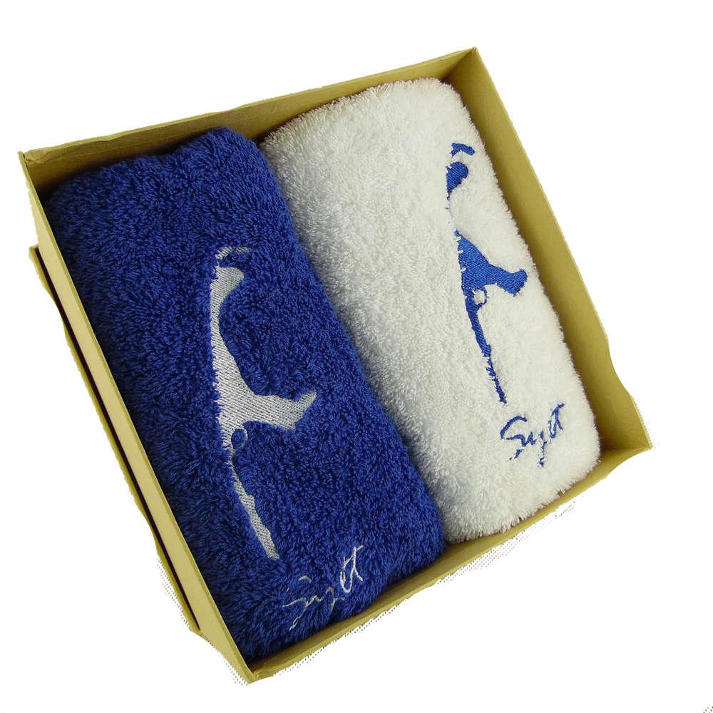 Hochwertige - flauschige und saugfähige Handtücher in Geschenkverpackung
