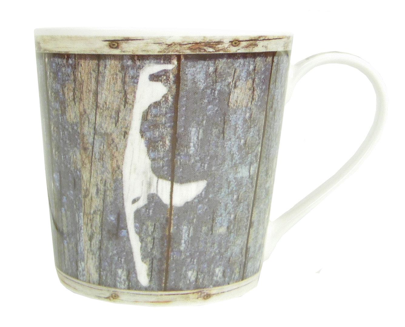 Kaffee-Becher- KRUG Sylt- Sylter Becher/blau-weiss bzw bunt